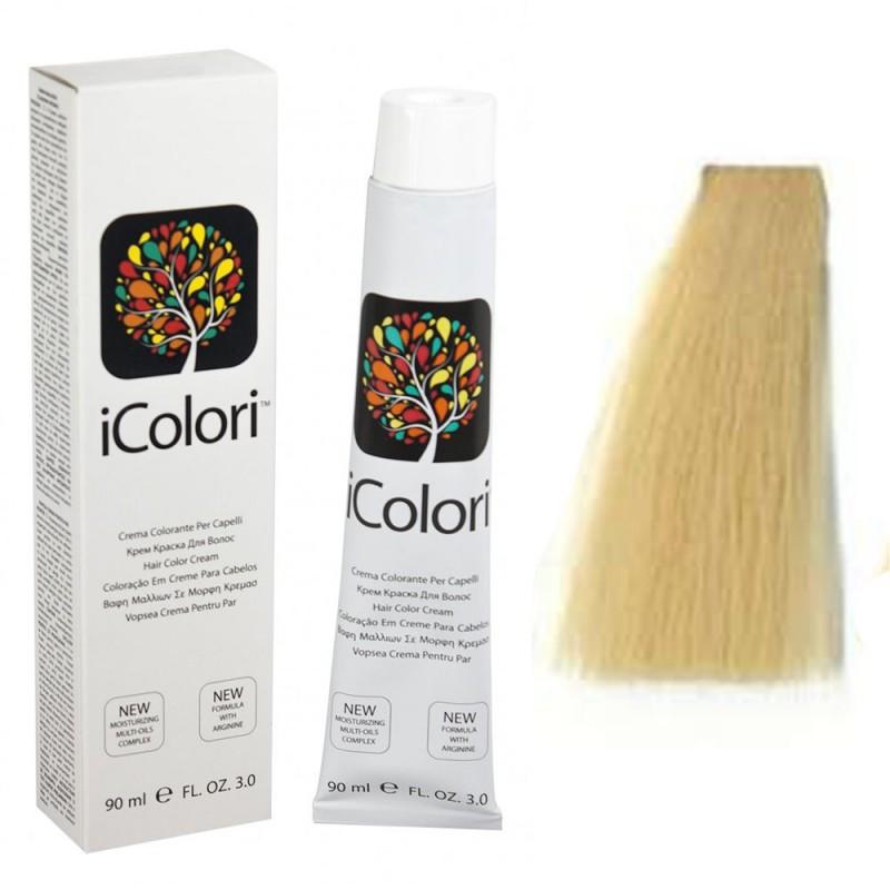 Kepro iColori Naturali Βαφή Μαλλιών 90ml (ΞΑΝΘΟ ΠΛΑΤΙΝΑ) - No10