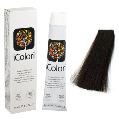 Kepro iColori Naturali Βαφή Μαλλιών 100ml (ΚΑΣΤΑΝΟ ΠΟΛΥ ΣΚΟΥΡΟ) - No2