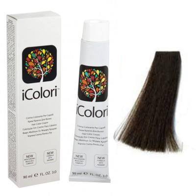 Kepro iColori Naturali Βαφή Μαλλιών 100ml (ΚΑΣΤΑΝΟ ΣΚΟΥΡΟ) - No3