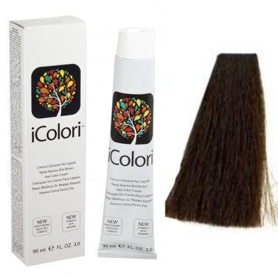 Kepro iColori Marroni Βαφή Μαλλιών 90ml (ΚΑΣΤΑΝΟ TOBACCO) - No4.23