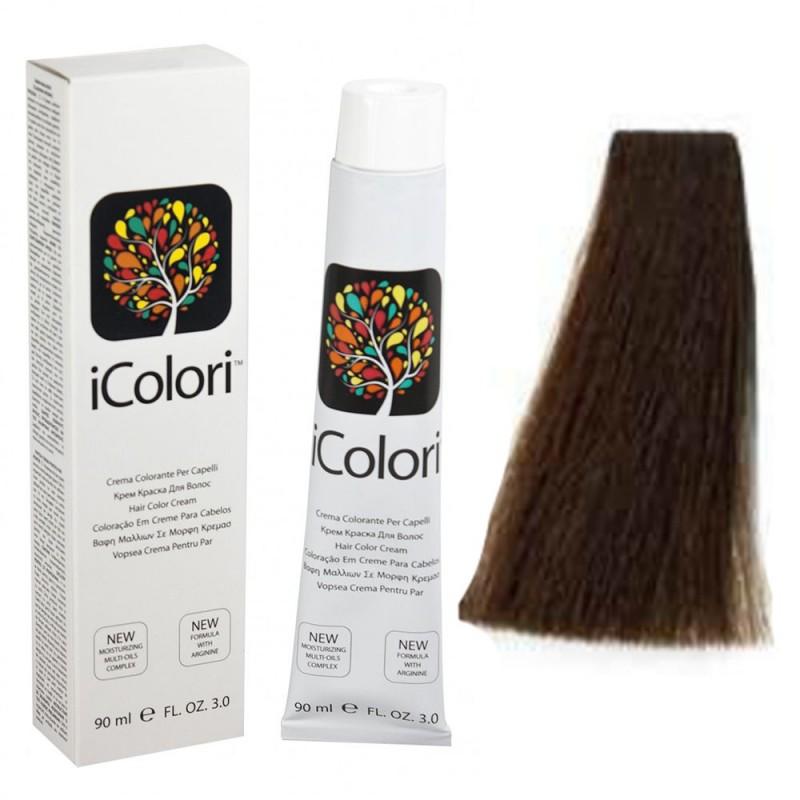 Kepro iColori Beige Βαφή Μαλλιών 90ml (ΚΑΣΤΑΝΟ ΑΝΟΙΚΤΟ ΜΠΕΖ) - No5.32