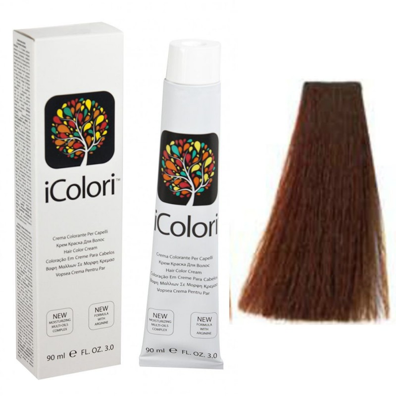 Kepro iColori Ramati Βαφή Μαλλιών 90ml (ΞΑΝΘΟ ΣΚΟΥΡΟ ΧΑΛΚΙΝΟ) - No6.4