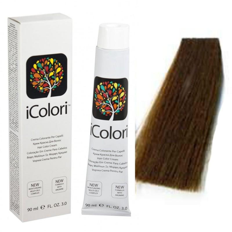 Kepro iColori Naturali Βαφή Μαλλιών 90ml (ΞΑΝΘΟ ΣΚΟΥΡΟ) - No6