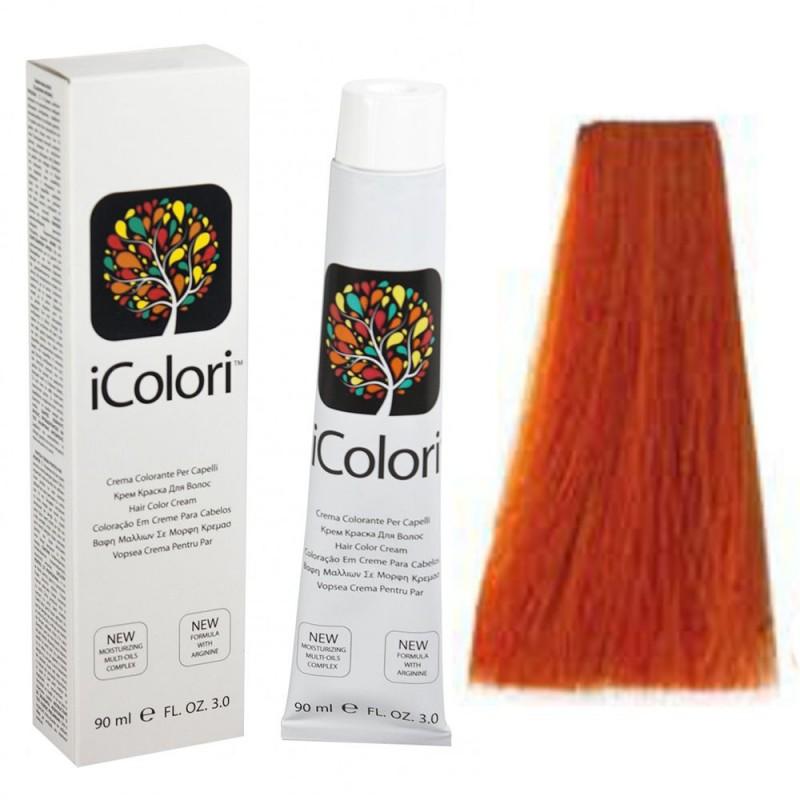 Kepro iColori Ramati Βαφή Μαλλιών 90ml (ΞΑΝΘΟ ΧΑΛΚΙΝΟ ΕΝΤΟΝΟ) - No7.44