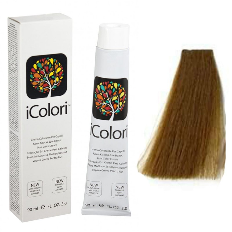 Kepro iColori Naturali Βαφή Μαλλιών 90ml (ΞΑΝΘΟ) - No7