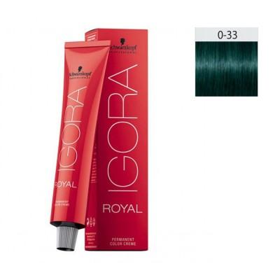 Schwarzkopf Igora Royal 60ml #0-33 Αντι-κόκκινο Μίξτον