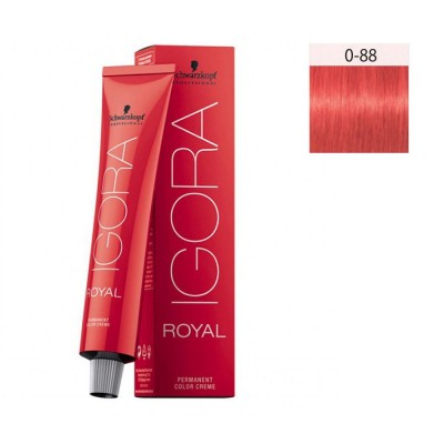 Schwarzkopf Igora Royal 60ml #0-88 Κόκκινο Μίξτον