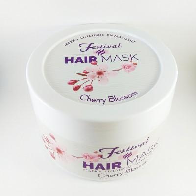 FESTIVAL Μάσκα μαλλιών 500ml (Cherry Blossom)