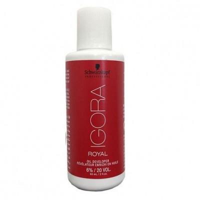 Οξυζενέ Schwarzkopf Professional Igora Royal Oil Developer 6% 20Vol (60ml)