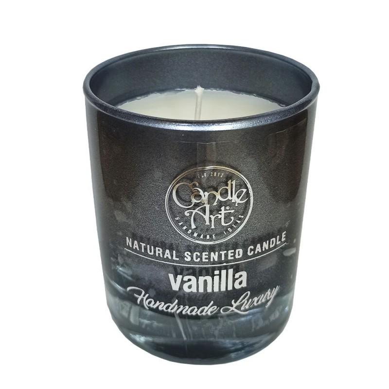 Candle Art Αρωματικό Κερί Luxury με κουτί 42h 220ml #Vanilla