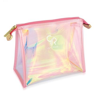 Golden Rose Hologram Make Up Bag Large