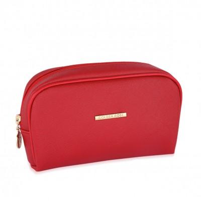 Golden Rose Red Make Up Bag