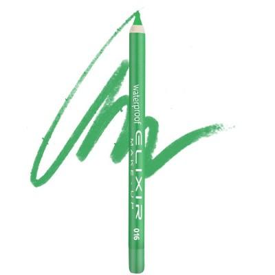 Elixir Αδιάβροχο Μολύβι ματιών – #016 (Metallic Green)