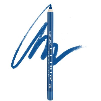 Elixir Αδιάβροχο Μολύβι ματιών – #018 (Electric Blue)