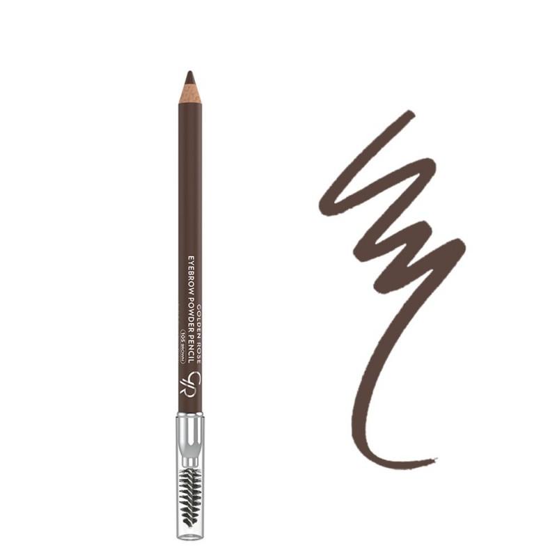 Golden Rose Eyebrow Powder Pencil 1,2gr – #105 (Brown)
