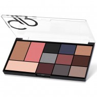 City Style Face & Eye Palette GR - #02 Smokey
