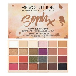 Revolution Soph X Eyeshadow Palette (24 αποχρώσεις)