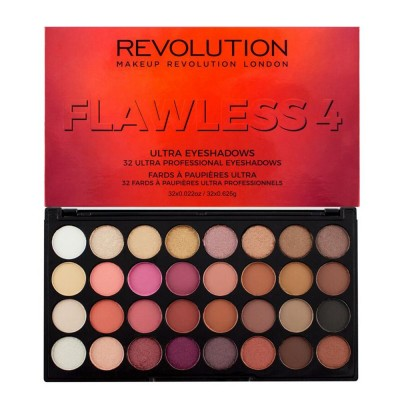 Revolution 32 Ultra Eyeshadow Palette Flawless 4
