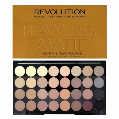 Revolution Ultra 32 Eyeshadow Palette Flawless Matte