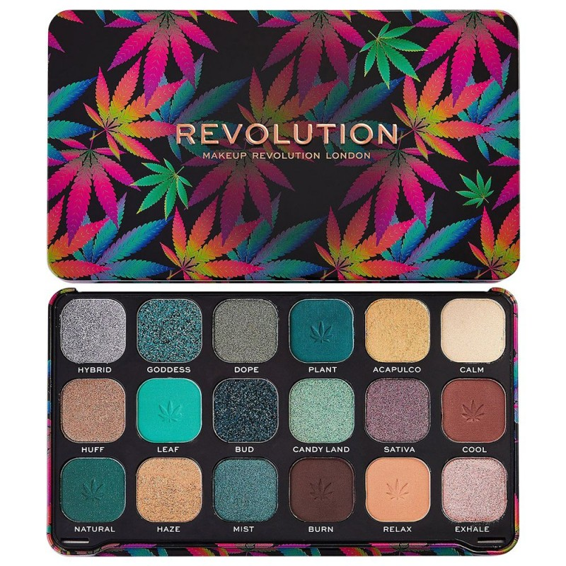 Revolution Beauty Forever Flawless Eyeshadow Palette Chilled