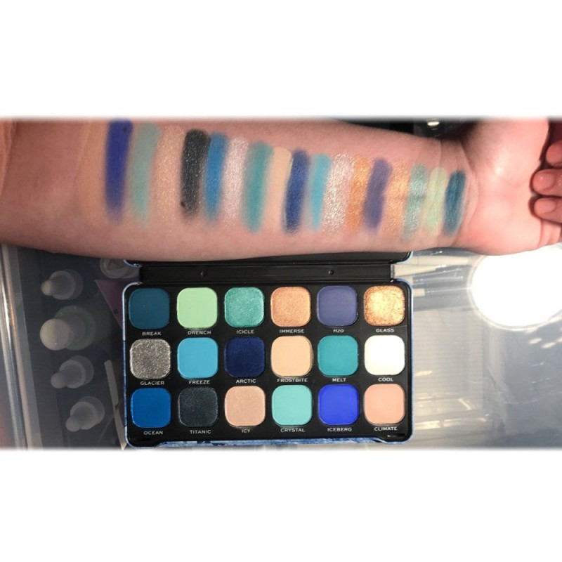 Revolution Beauty Forever Flawless Eyeshadow Palette Ice
