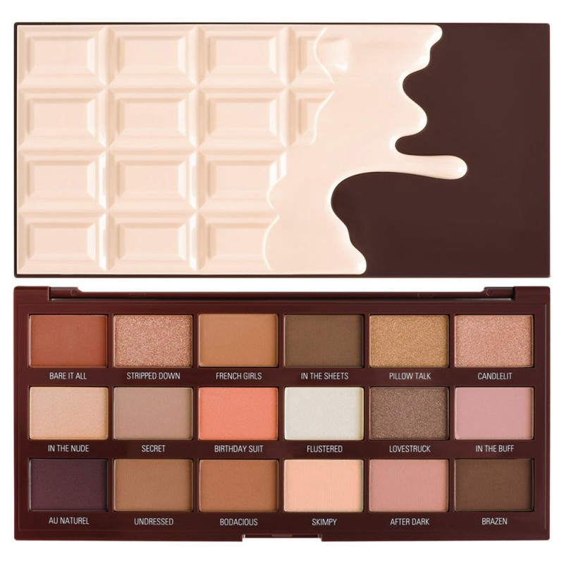 Revolution Chocolate Nudes Eyeshadow Palette