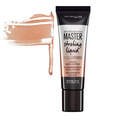 Maybelline Master Strobing Liquid Highlighter 25ml - #200 Medium/Nude