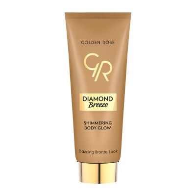 Golden Rose Diamond Breeze Shimmering Body Glow 75ml - #02 Dazzle Bronze