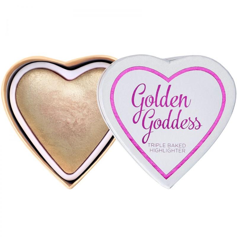 Revolution I Heart Highlighter Golden Goddess 10gr