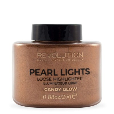Revolution Beauty Pearl Lights Loose Highlighter 25gr - #Candy Glow