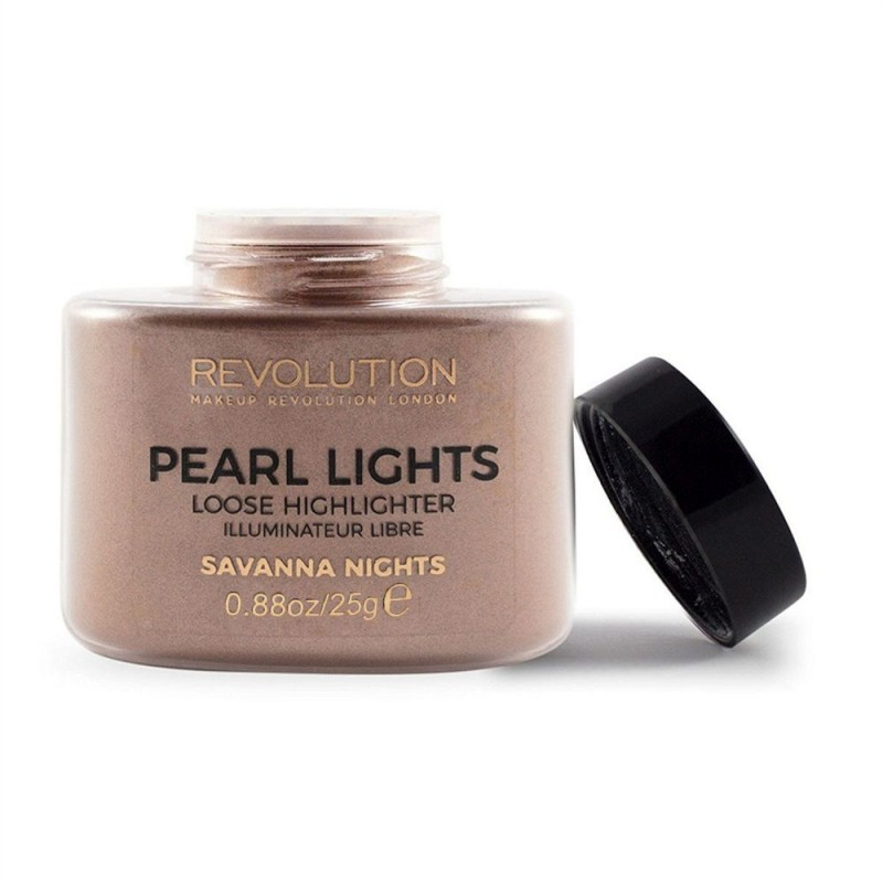 Revolution Beauty Pearl Lights Loose Highlighter 25gr - #Savana Nights