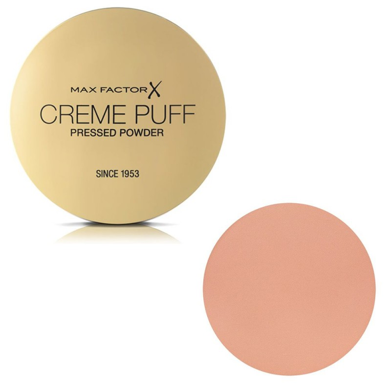 Max Factor Creme Puff Compact Powder 21gr – #055 (Candle Glow)