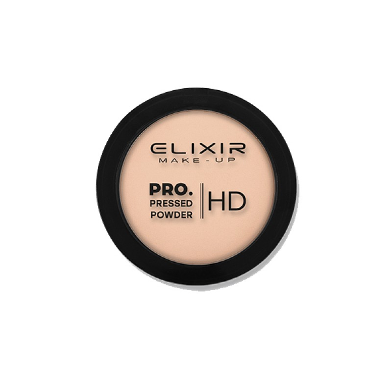 Elixir Πούδρα – PRO. Pressed Powder HD 9g – #201 (Vanilla Ice)