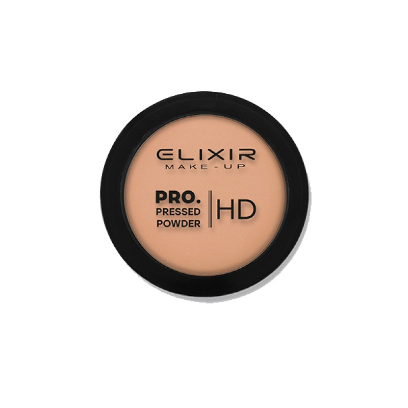 Elixir Πούδρα – PRO. Pressed Powder HD 9g – #203 (Smooth Cocoa)