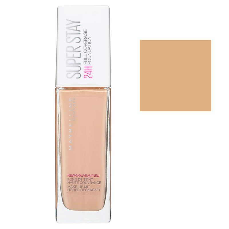 Maybelline Super Stay 24H Full Coverage Foundation 30ml #10 Ivory