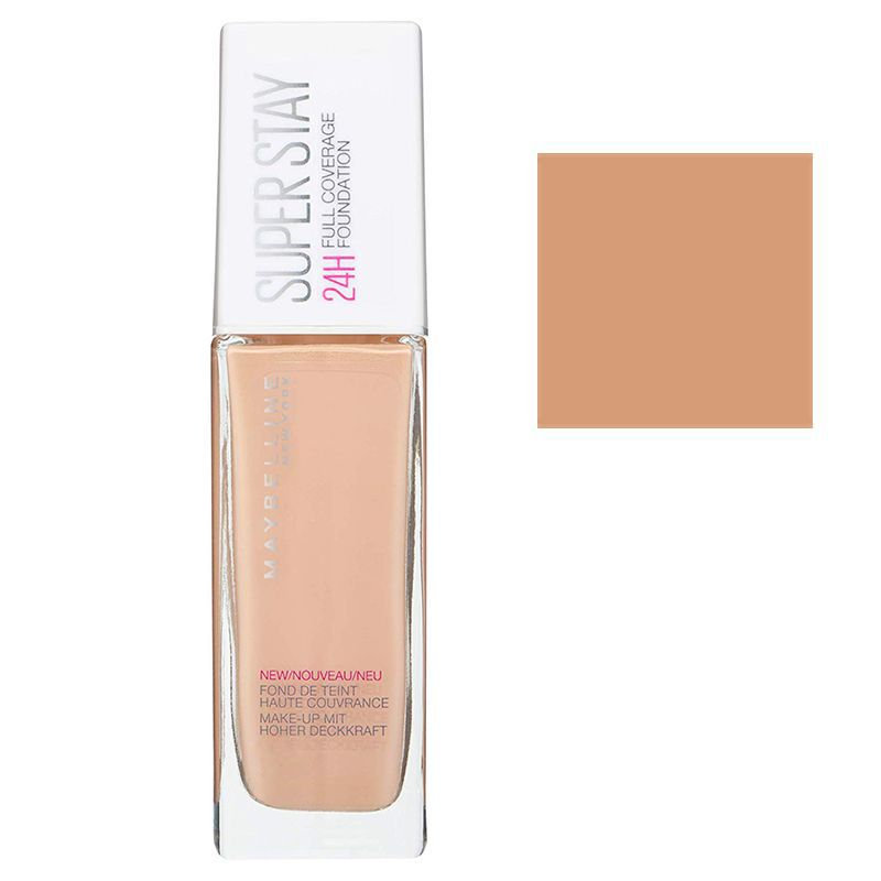 Maybelline Super Stay 24H Full Coverage Foundation 30ml #21 Nude Beige