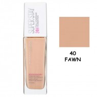 Maybelline Super Stay 24H Full Coverage Foundation 30ml #40 Fawn