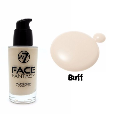 W7 Face Fantasy Matte 30ml - Buff (make up)