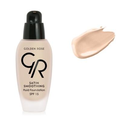 Golden Rose Satin Smoothing Fluid Foundation SPF15 34ml - #27