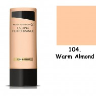 Max Factor Lasting Performance 104 Warm Almond 35ml make up