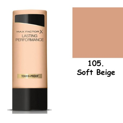 Max Factor Lasting Performance 105 Soft Beige 35ml make up