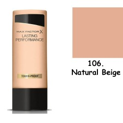Max Factor Lasting Performance 106 Natural Beige 35ml make up