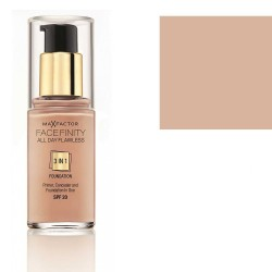 Max Factor Facefinity 3 in 1 Foundation SPF20 30ml  (40 Light Ivory)