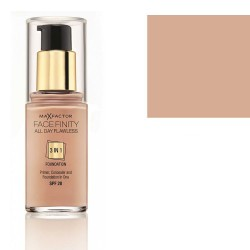 Max Factor Facefinity 3 in 1 Foundation SPF20 30ml  (45 Warm Almond)