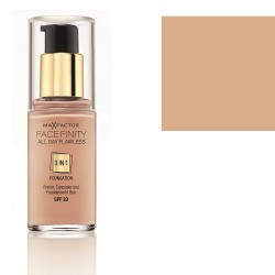 Max Factor Facefinity 3 in 1 Foundation SPF20 30ml  (47 Nude)