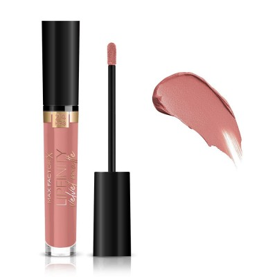 Max Factor Lipfinity Velvet Matte Liquid Lipstick 3.5ml #015 Nude Silk