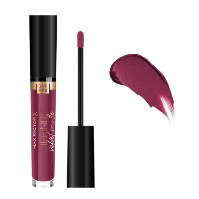 Max Factor Lipfinity Velvet Matte Liquid Lipstick 3.5ml #050 Satin Berry