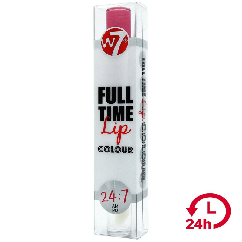 W7 Full Time Lip Coulor 24 hours 6ml (Angel Dust)