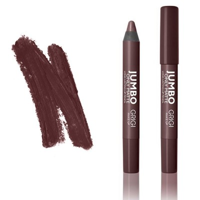 GRIGI Only Matte JUMBO Long Lasting Lip Pencil 2.05g #16 (BROWN)