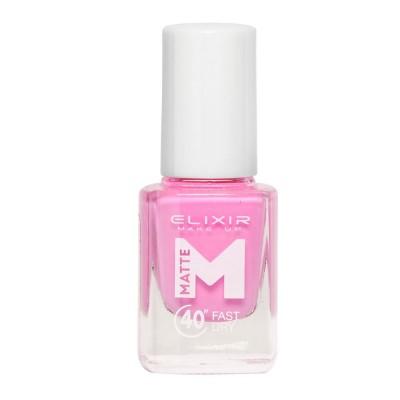 Elixir Βερνίκι Matte 40″ & Up to 8 Days 13ml – #M10 (Lavender Rose)